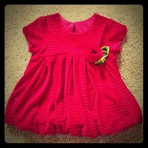 Gorgeous Red Velvet Dress